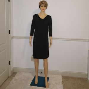NWT Claudia Richard Little Black Dress Sz Medium